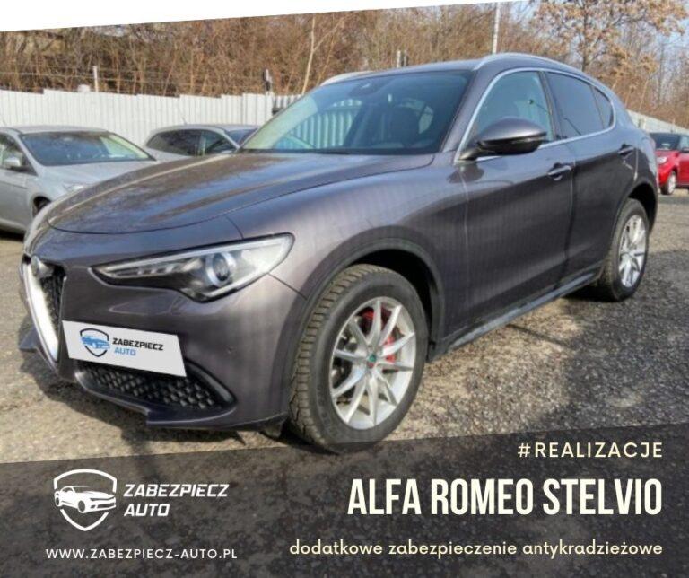 Alfa Romeo Stelvio - zabezpieczenie antykradzieżowe