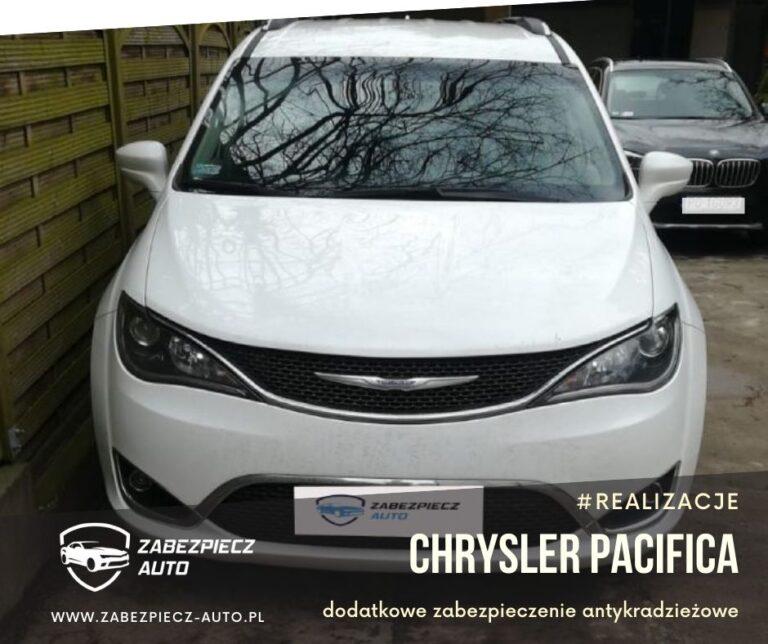 Chrysler Pacifica - dodatkowe zabezpieczenie antykradzieżowe