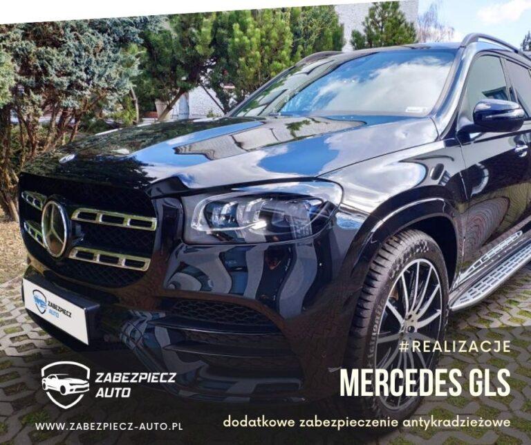 Mercedes GLS - dodatkowe zabezpieczenie antykradzieżowe