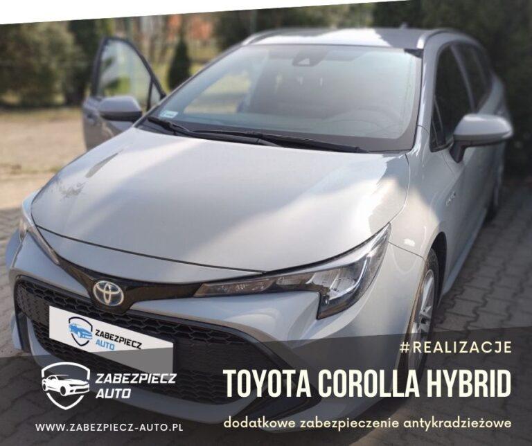 Toyota Corolla Hybrid - dodatkowe zabezpieczenie antykradzieżowe