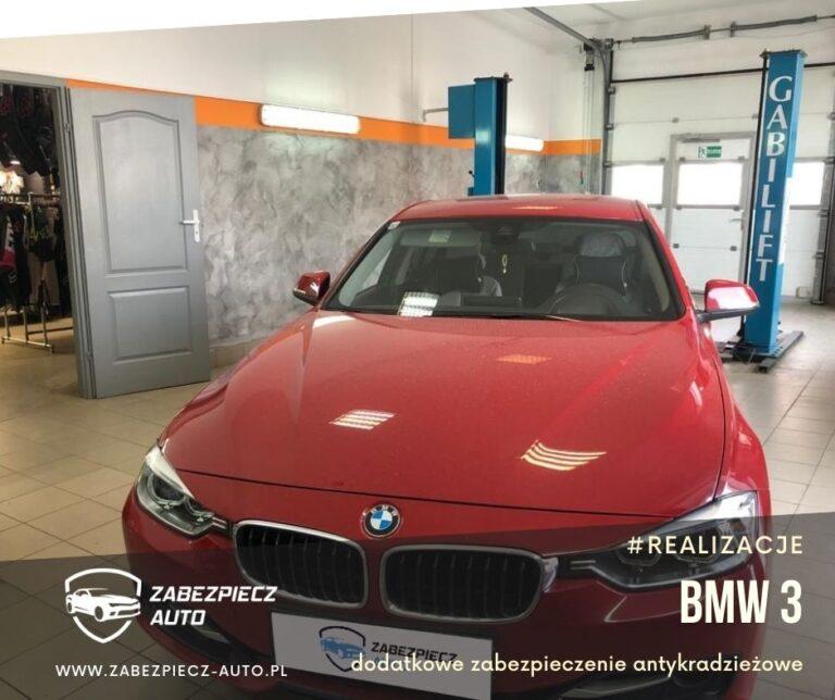 BMW 3 - dodatkowe zabezpieczenie antykradzieżowe