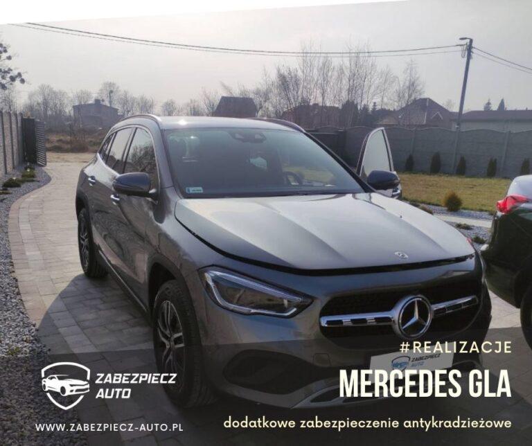 Mercedes GLA - Dodatkowe Zabezpieczenie Antykradzieżowe