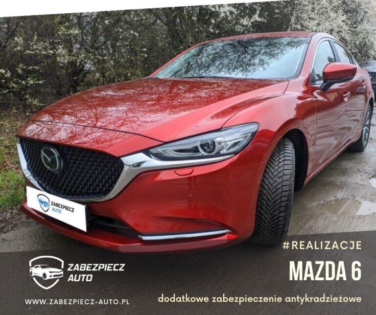 Mazda 6 - Dodatkowe Zabezpieczenie Antykradzieżowe