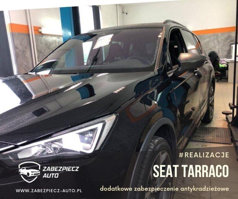 Seat Tarraco - Dodatkowe Zabezpieczenie Antykradzieżowe