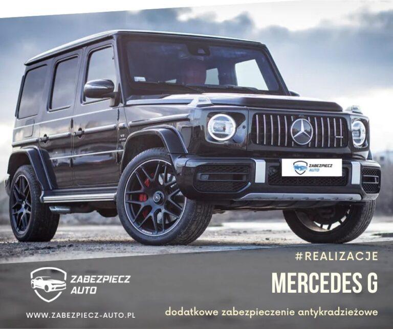 Mercedes Klasa G - Dodatkowe Zabezpieczenie Antykradzieżowe