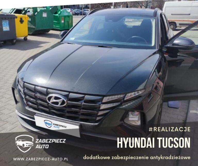 Hyundai Tucson - Dodatkowe zabezpieczenie Antykradzieżowe