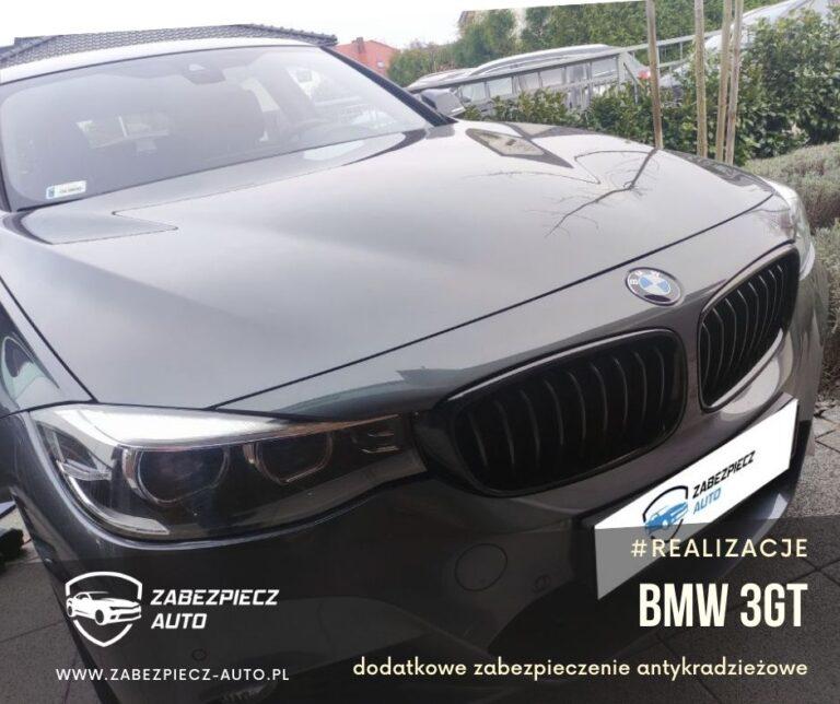 BMW 3GT - Dodatkowe Zabezpieczenie Antykradzieżowe