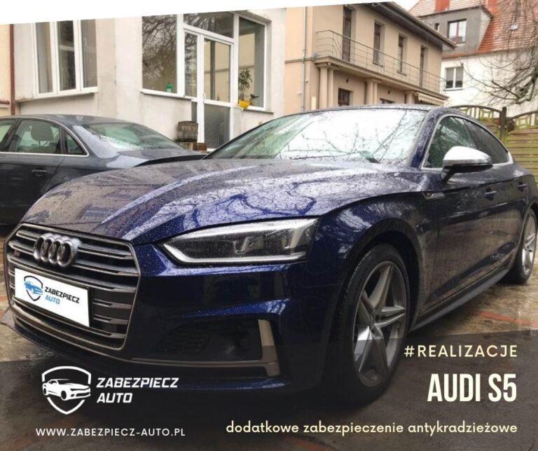 Audi S5 - Dodatkowe Zabezpieczenie Antykradzieżowe