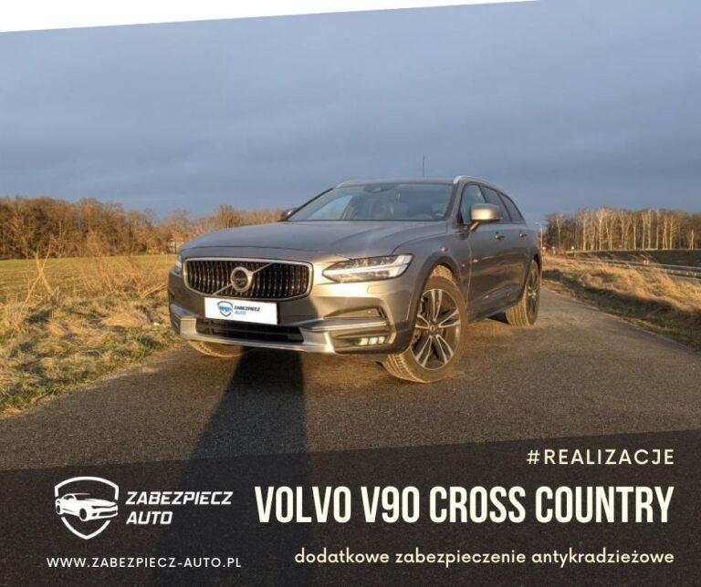 Volvo V90 - Dodatkowe Zabezpieczenie Antykradzieżowe