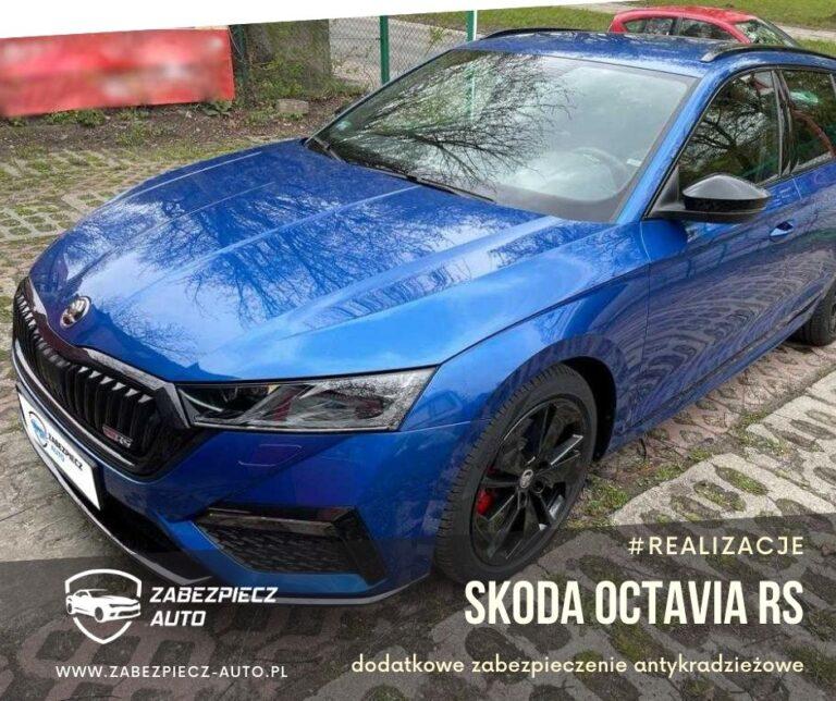 Skoda Octavia RS - Dodatkowe Zabezpieczenie Antykradzieżowe
