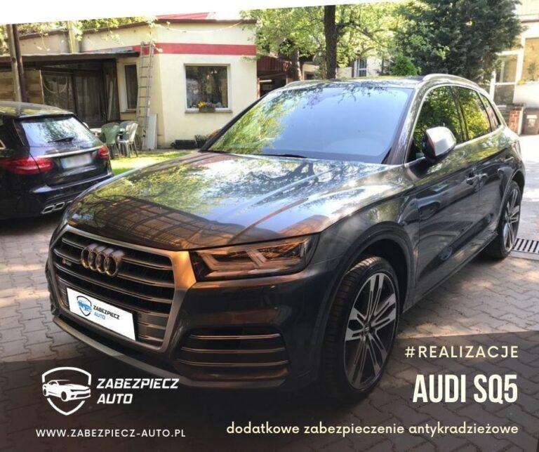 Audi SQ5 - Dodatkowe Zabezpieczenie Antykradzieżowe