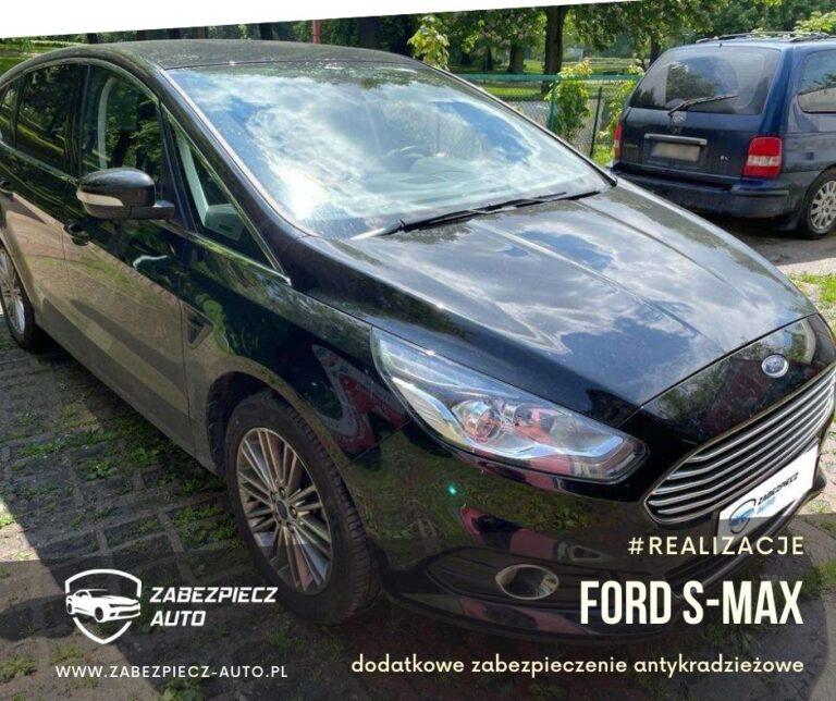 Ford S-Max - Dodatkowe Zabezpieczenie Antykradzieżowe