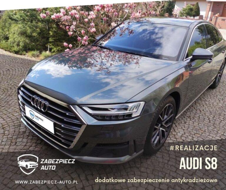 Audi S8 - Dodatkowe Zabezpieczenie Antykradzieżowe