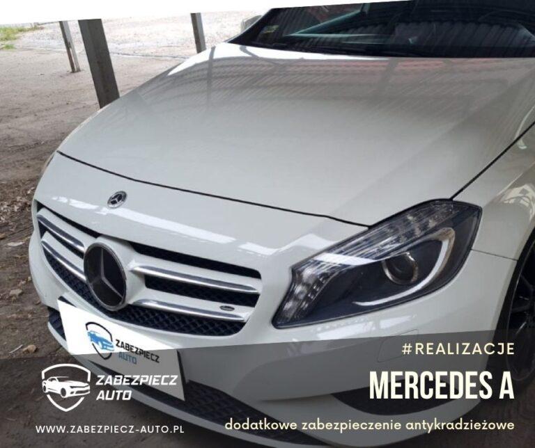 Mercedes Klasa A - Dodatkowe Zabezpieczenie Antykradzieżowe