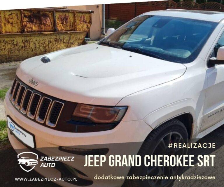 Jeep Grand Cherokee - Dodatkowe Zabezpieczenie Antykradzieżowe