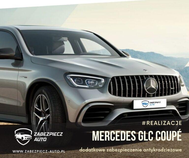 Mercedes GLC Coupe - dodatkowe zabezpieczenie antykradzieżowe