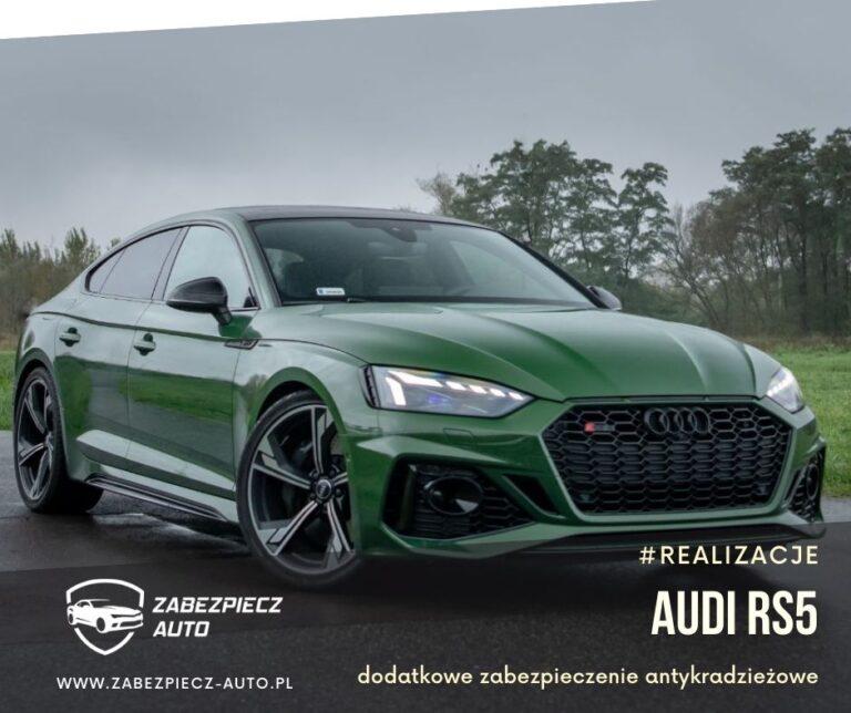 Audi RS5 - Dodatkowe Zabezpieczenie Antykradzieżowe