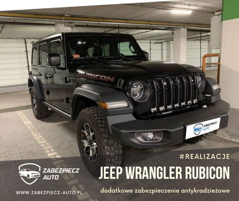 Jeep Wrangler Rubicon - Dodatkowe Zabezpieczenie Antykradzieżowe