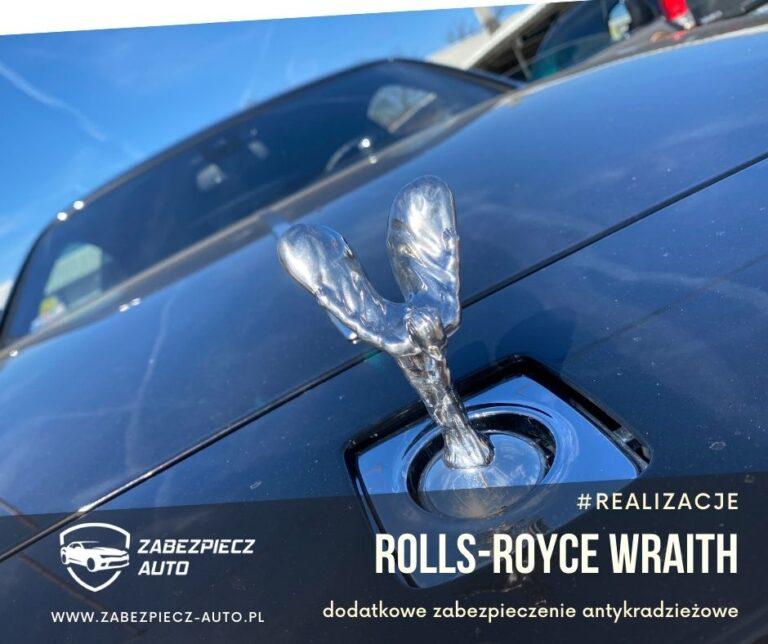 Rolls-Royce Wraith - Dodatkowe Zabezpieczenie Antykradzieżowe