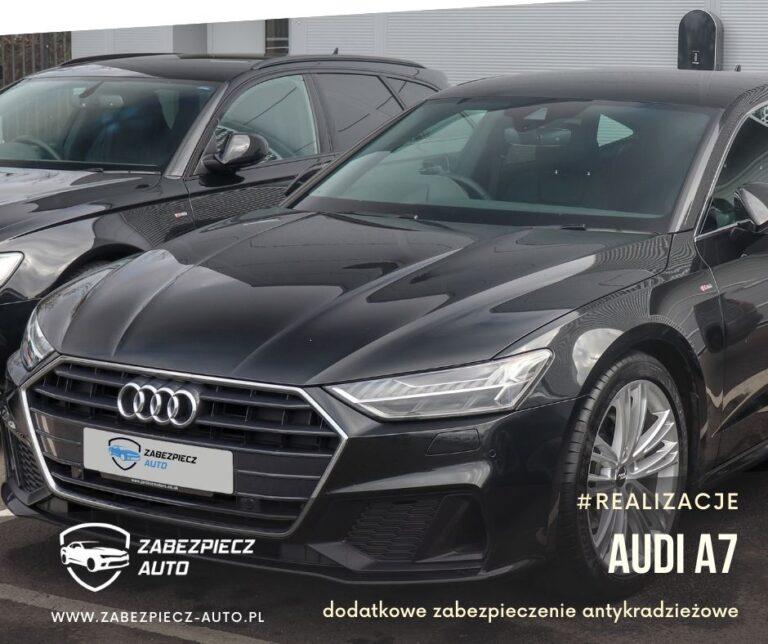 Audi A7 - Dodatkowe Zabezpieczenie Antykradzieżowe