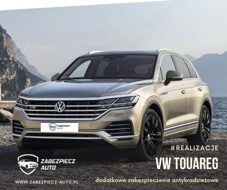 VW Touareg - Dodatkowe Zabezpieczenie Antykradzieżowe