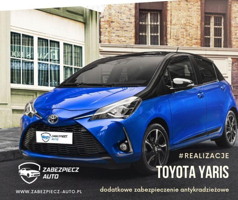 Toyota Yaris- Dodatkowe Zabezpieczenie Antykradzieżowe