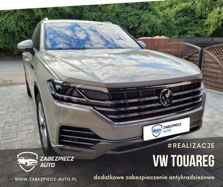 VW Touareg - Dodatkowe Zabezpieczenie CanLock