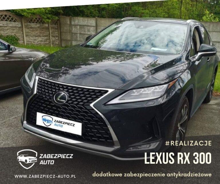 Lexus RX 300 - Dodatkowe Zabezpieczenie CanLock