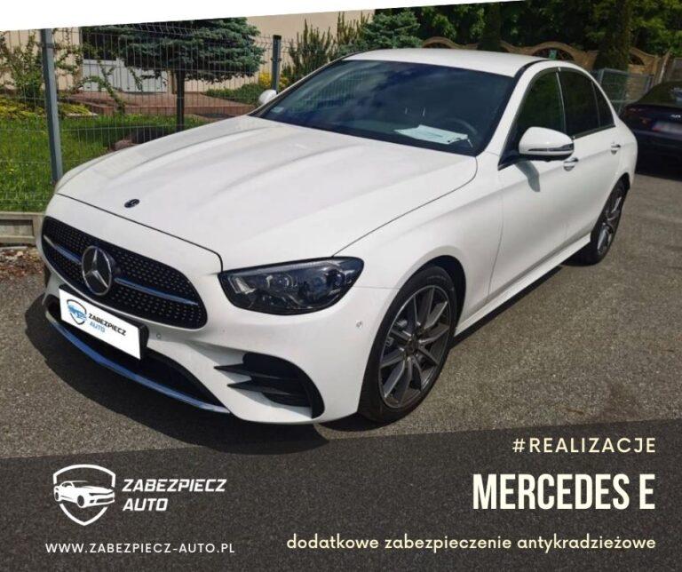 Mercedes E - Dodatkowe Zabezpieczenie CanLock