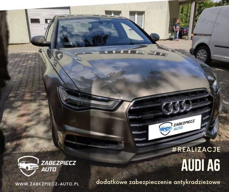 Audi A6 - Dodatkowe Zabezpieczenie CanLock