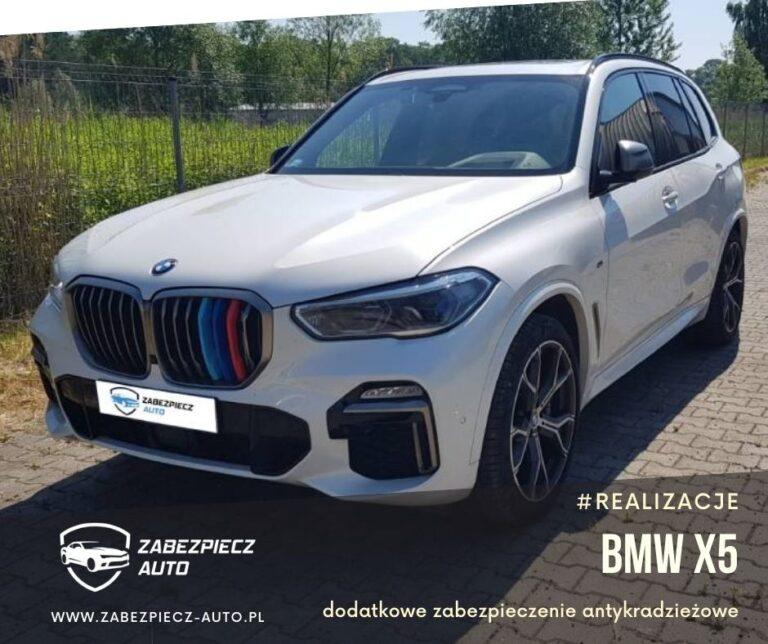 BMW X5 - Dodatkowe Zabezpieczenie CanLock