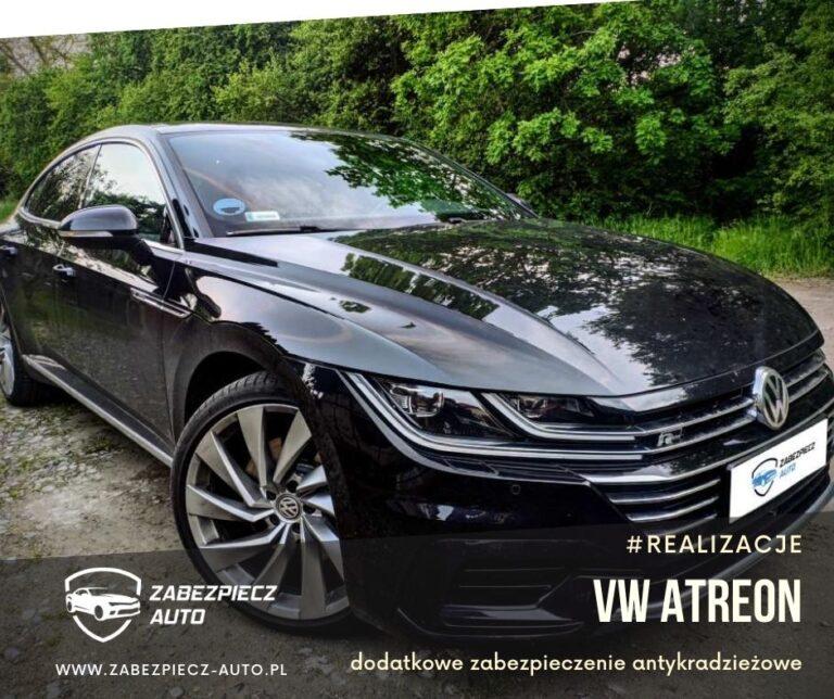 VW Arteon - Dodatkowe Zabezpieczenie Antykradzieżowe