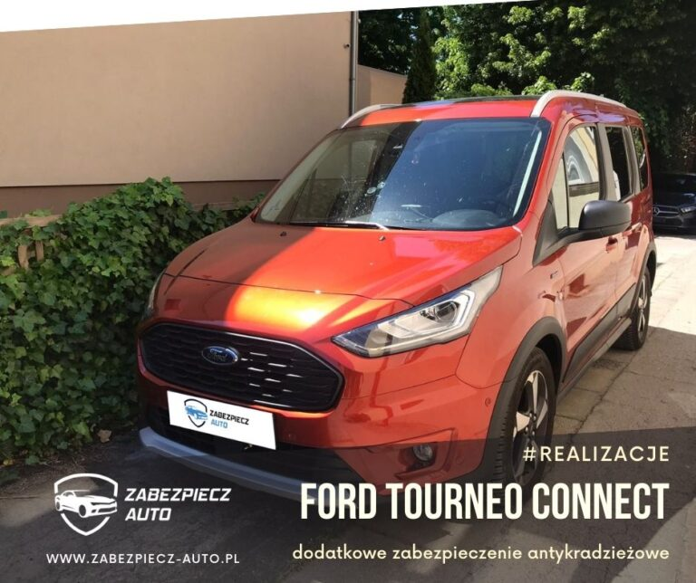Ford Tourneo Connect - Dodatkowe zabezpieczenie CanLock
