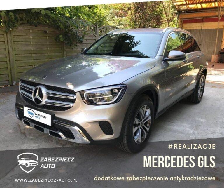 Mercedes GLC - Dodatkowe Zabezpieczenie Canlock