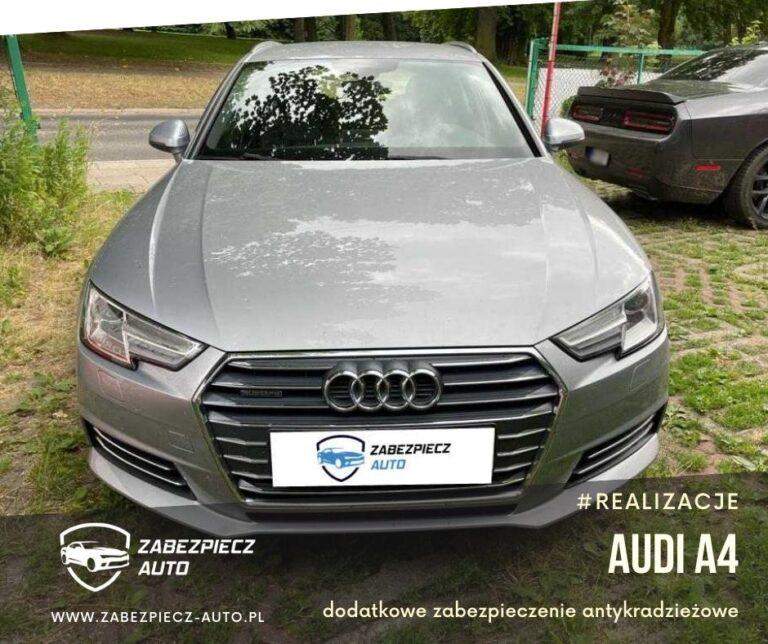 Audi A4 - Dodatkowe Zabezpieczenie Antykradzieżowe CanLock