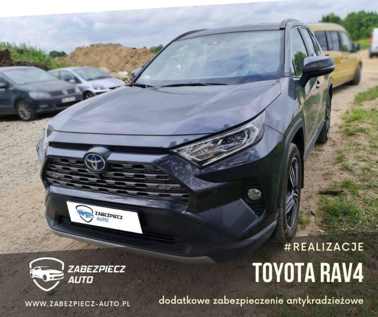 Toyota Rav4 - Dodatkowe Zabezpieczenie CanLock