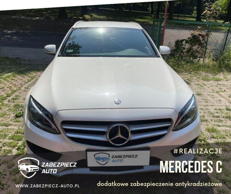 Mercedes C - Dodatkowe Zabezpieczenie CanLock