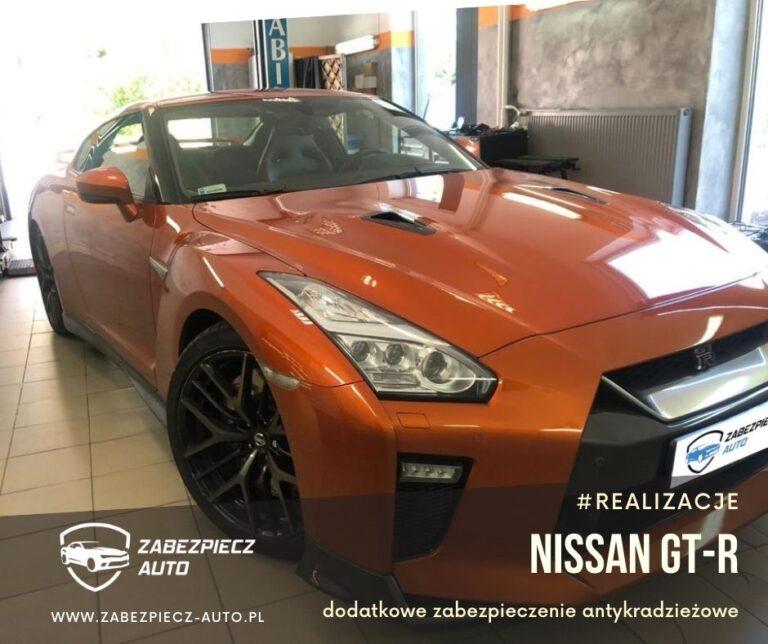 Nissan GT-R - dodatkowe zabezpieczenie CanLock
