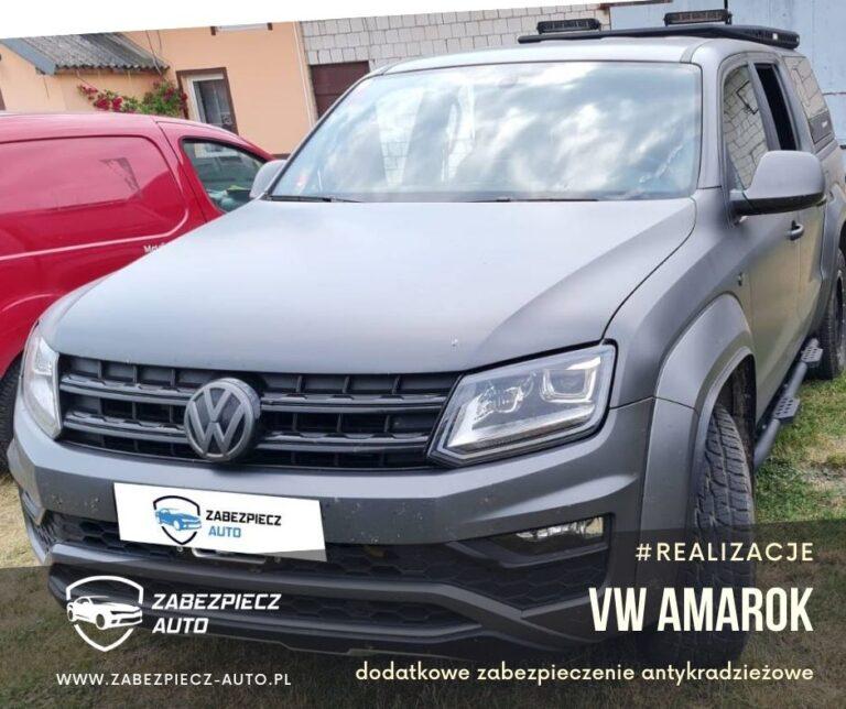 VW Amarok - Dodatkowe Zabezpieczenie Antykradzieżowe