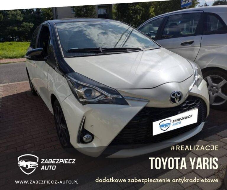 Toyota Yaris - Dodatkowe Zabezpieczenie Antykradzieżowe