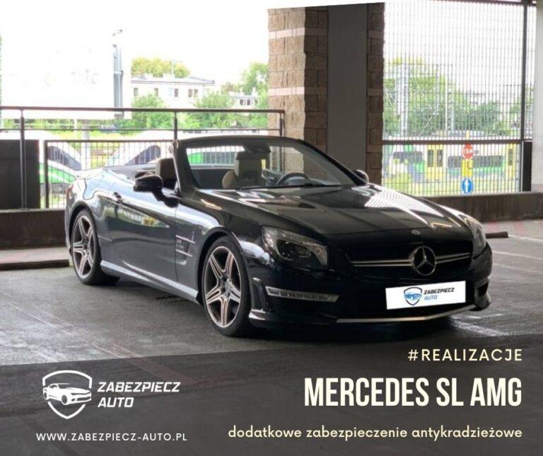 Mercedes SL AMG - Dodatkowe Zabezpieczenie Antykradzieżowe