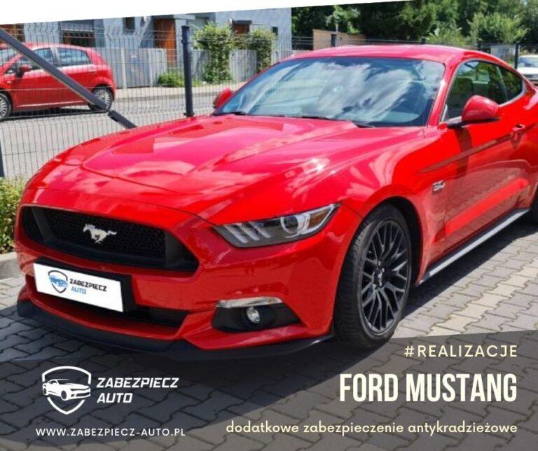 Ford Mustang - Dodatkowe Zabezpieczenie Antykradzieżowe CanLock