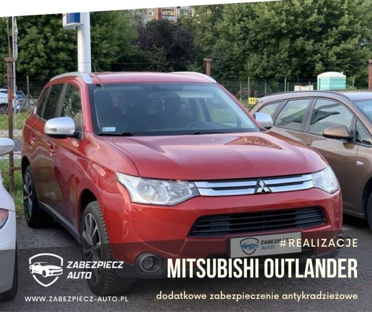 Mitsubishi Outlander - Dodatkowe Zabezpieczenie Antykradzieżowe CanLock