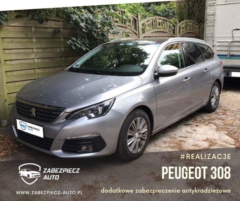 Peugeot 308 - Dodatkowe Zabezpieczenie Antykradzieżowe CanLock