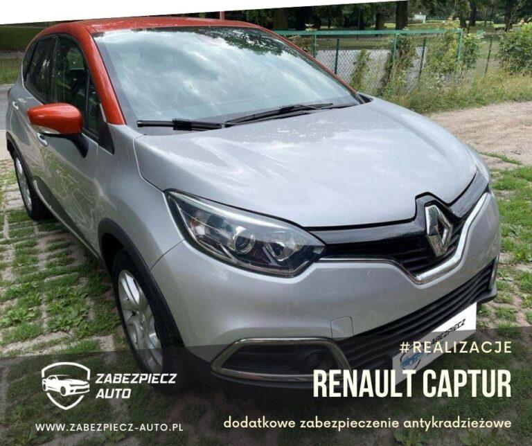 Renault Captur - Dodatkowe Zabezpieczenie Antykradzieżowe CanLock