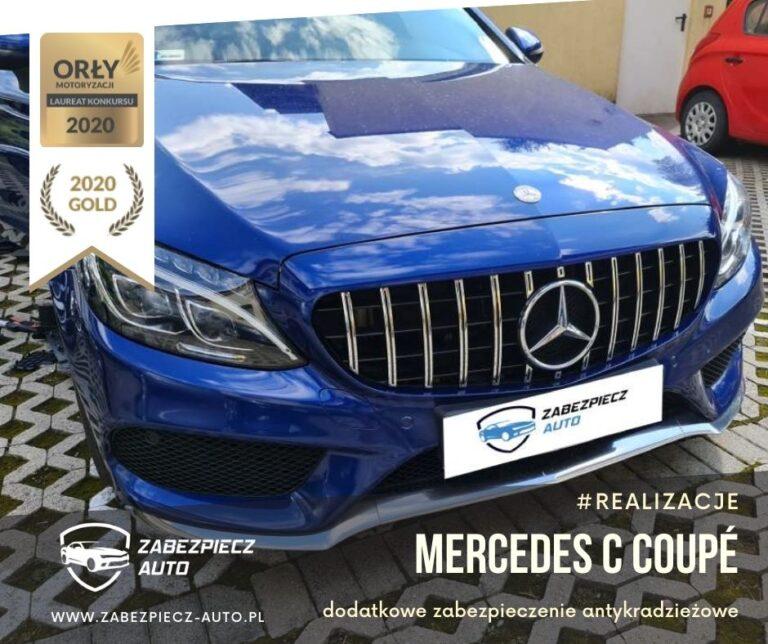 Mercedes C Coupé - Dodatkowe Zabezpieczenie Antykradzieżowe