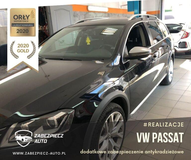 VW Passat - Dodatkowe Zabezpieczenie Antykradzieżowe CanLock