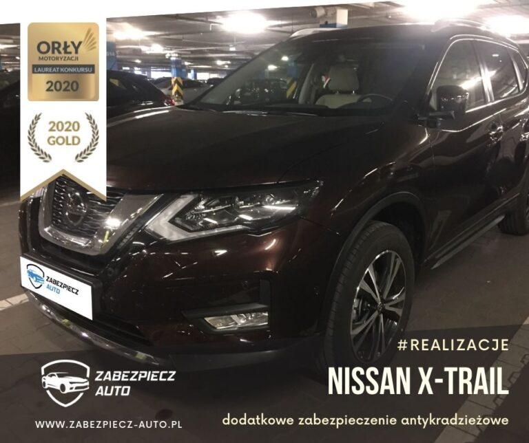 Nissan X-Trail - Dodatkowe Zabezpieczenie Antykradzieżowe CanLock