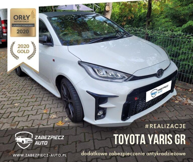 Toyota Yaris GR - Dodatkowe Zabezpieczenie Antykradzieżowe CanLock