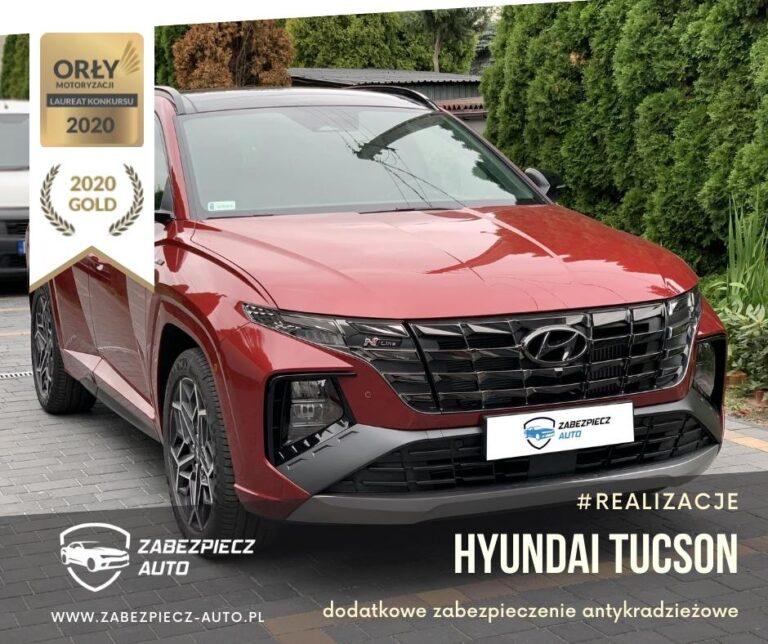Hyundai Tucson - Dodatkowe Zabezpieczenie Antykradzieżowe CanLock